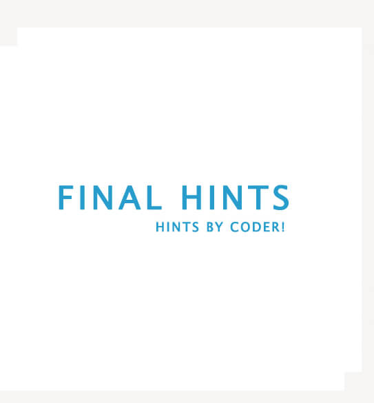 FinalHints