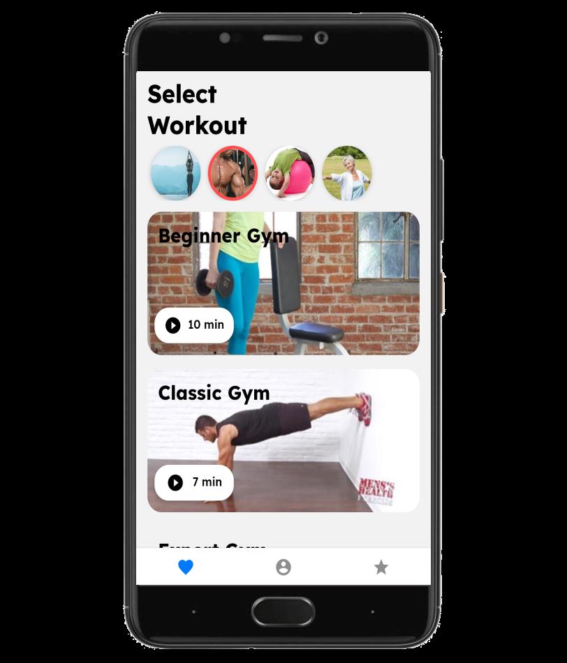 Select Workout
