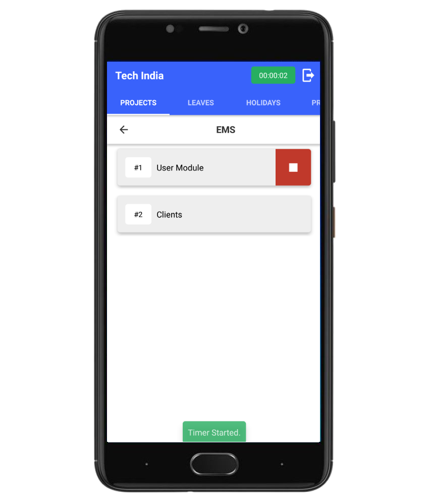 Project Task Tracker